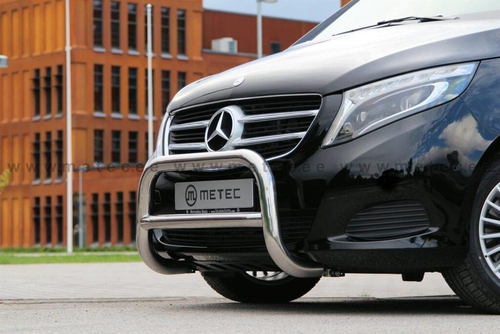 Mercedes Vito med en Eurobar fra Metec påmontert