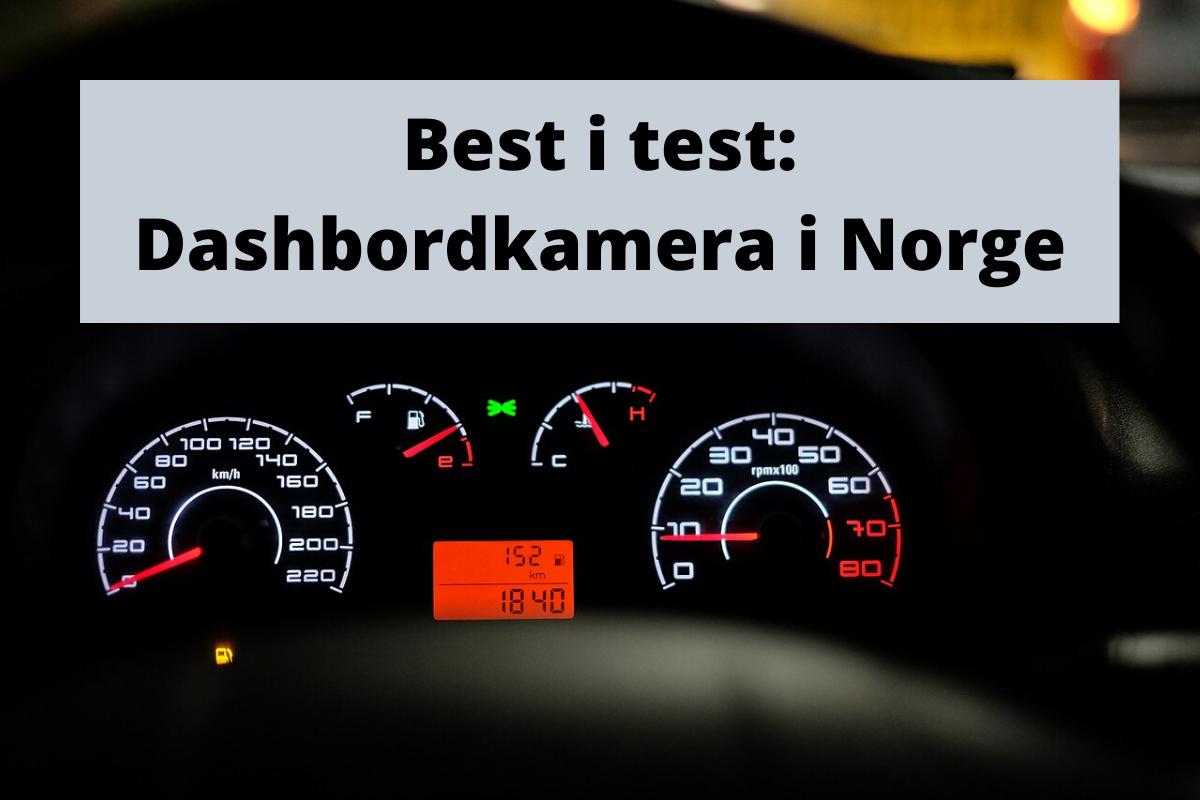Dashbordkamera test: Topp 3 bilkamera