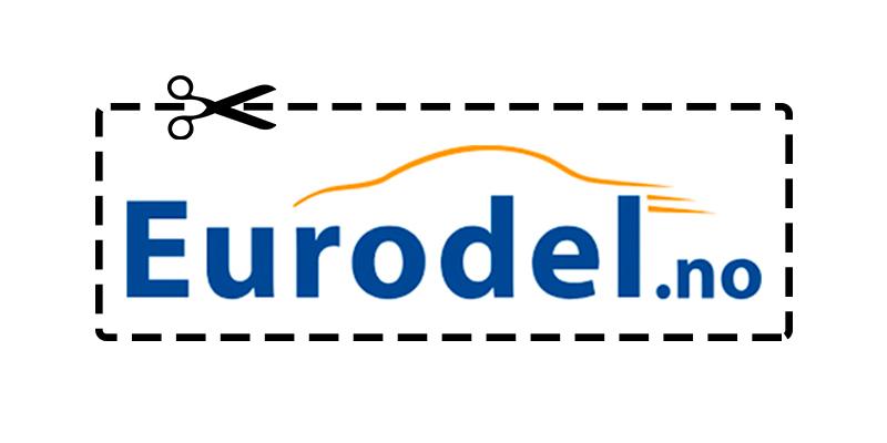 Eurodel rabattkode (oppdatert oversikt)