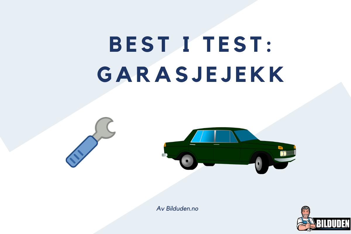Slik kjøper du riktig garasjejekk (best i test)