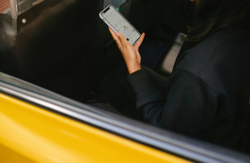 GPS-tracker bil