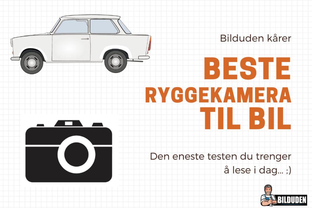 Best-i-test: Ryggekamera bil